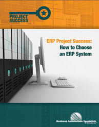 ERP Project Success: How to Choose an ERP System