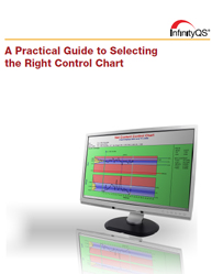 Choose the appropriate type of control chart