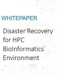 Disaster Recovery for HPC BioInformatics Environment
