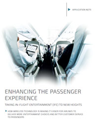Taking In-Flight Entertainment (IFE) to New Heights:Enhancing the Passenger Experience