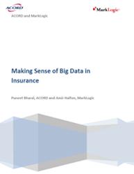 Making Sense of Big Data in Insurance