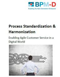 Process Standardization & Harmonization Improvement in The Digital World