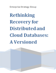 Rethinking Recovery for Distributed and Cloud Databases: A Versioned Database Future