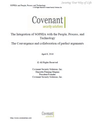The Integration of SOPHIA with the People, Process, and Technology: The Convergence and collaboration of perfect arguments