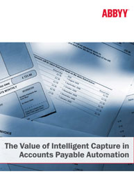The Value of Intelligent Capture in Accounts Payable Automation