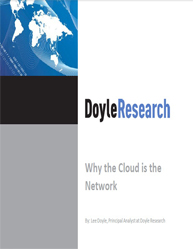 Network Intelligence:Why the Cloud is the Network?