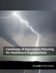 Continuity of Operations Planning for Healthcare Organizations