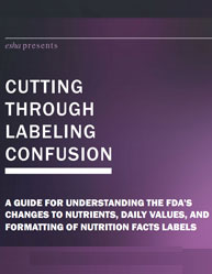 Cutting through Labeling Confusion: A Guide For Understanding The Fda's Changes To Nutrients, Daily Values, And Formatting Of Nutrition Facts Labels