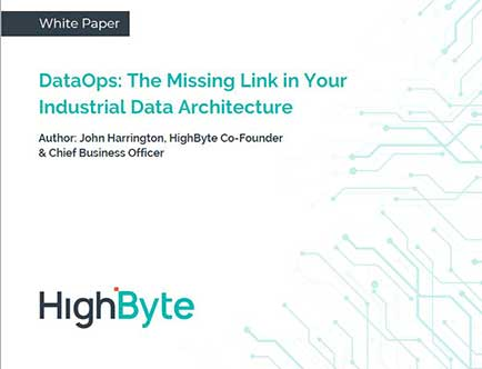 DataOps: The Missing Link in Your Industrial Data Architecture