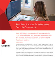 Five Best Practices For Information Security Governance