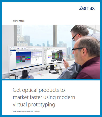 Get optical products to market faster using modern virtual prototyping