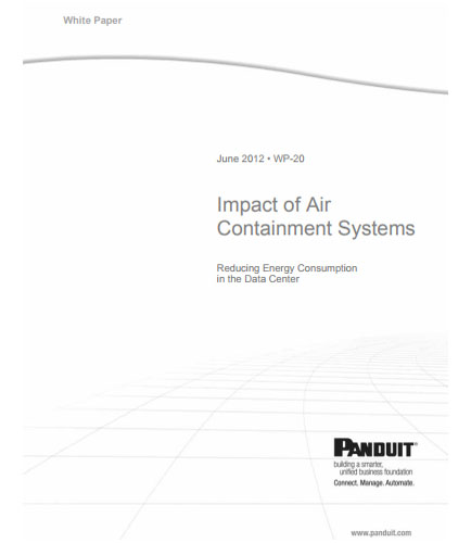 Impact of air containment systems in data centers