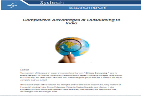 Competitive Advantages of Outsourcing to India