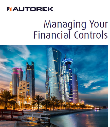 Managing Your Financial Controls