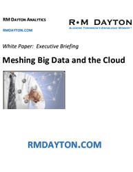 Meshing Big Data and the Cloud