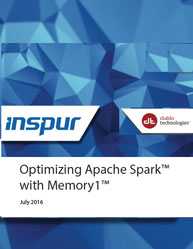 Optimizing Apache Spark™ with Memory1™