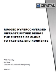 Rugged Hyperconverged Infrastructure Brings The Enterprise Cloud To Tactical Environments