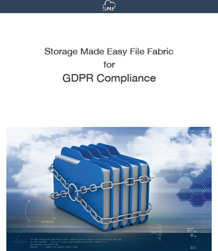 STORAGE MADE EASY FILE FABRIC FOR GDPR COMPLIANCE