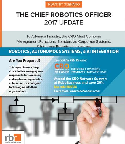 THE CHIEF ROBOTICS OFFICER 2017 UPDATE