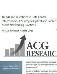 Trends and Directions in Data Center Interconnect: A Survey of Optical and Packet Mode Networking Practices