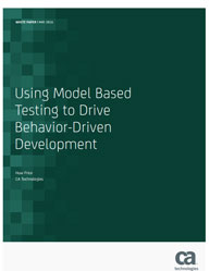 Model Based Testing and Behavior-Driven Development