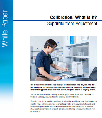 WHAT IS CALIBRATION AND WHY IS IT SO IMPORTANT
