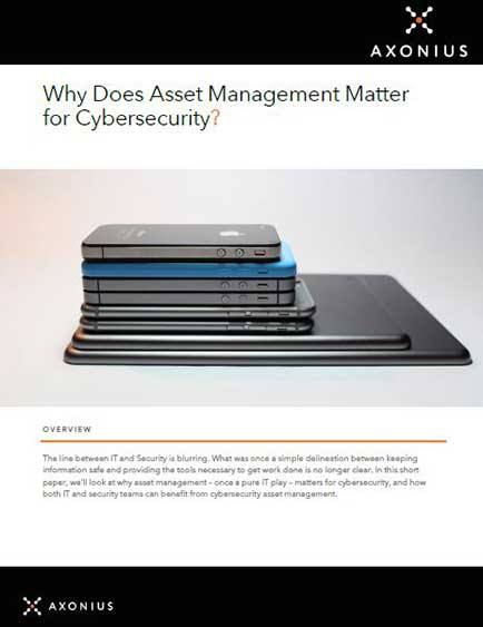 Why Does Asset Management Matter for Cybersecurity?